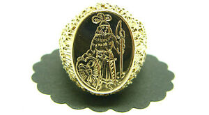 Herren Siegel Ring 750 Gelbgold 18 Karat Goldring Größe 58 Herren Siegelring