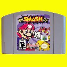 Nintendo 64 N64 Game Super Smash Bros. USA version