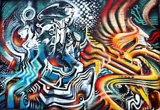 Street Art  graffiti Large 2 sizes A1 A2 Poster print art painting Australia