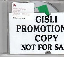 (DY573) Gisli, How About That - 2004 unopened DJ CD