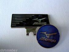 Golf Ball Marker Hat Clip MIZUNO * Blue * Magnetic