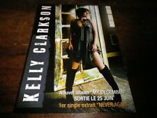 KELLY CLARKSON - Plan média / Press kit !!! MY DECEMBER !!!