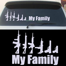 My Family Car Auto Aufkleber Tuning Tattoo Fun Shocker StickerAutoaufkleber