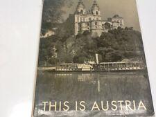 This is Austria; photobook, landscapes, monochrome, English text, HC