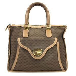 100% authentic Gucci Old GG 25.02.1907 tote bag Used 995-3-e@2c