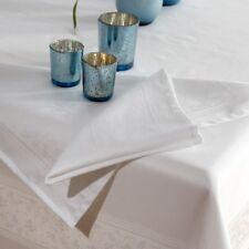 Curt Bauer Stoffservietten, Madeira weiß, fleckgeschützt, Baumwolle, 2er-Set