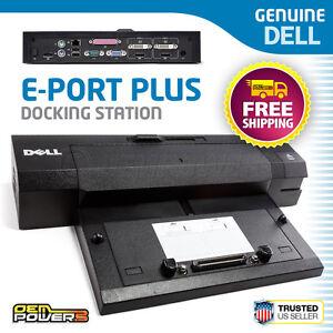 Dell E-Port Plus Dock Station Replicator PR02X Precision M4400 M4600 M6400 M6600