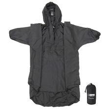 Snugpak Enhanced Patrol Rain Poncho Covers Backpack w/Stuff Sack Tactical/Hiking
