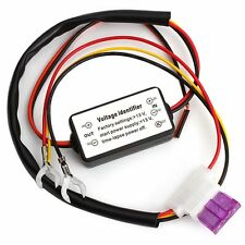 DRL Auto Car LED Daytime Running Light Relay Harness Dimmer On/Off Controller