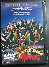 LITTLE SHOP OF HORRORS - RARE - 1986 Recalled Alternate Ending - Sealed