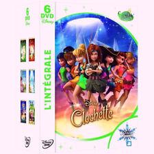 DISNEY DVD intégrale LA FEE CLOCHETTE n° 93, 96, 99, 105, 110 et le tournoi fées