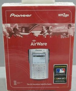 Pioneer AirWave XM2Go XM Portable Car Home Satellite Radio Receiver