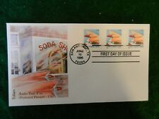 #2910 *Auto Tail Fin* Non-Denom. (15c) Pnc3 First Day Cover. Plt. #S11111