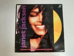 Vintage Laser Disc - Janet Jackson The Rhythm Nation Compilation