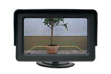 4.3 Zoll KFZ Monitor Bildschirm, LCD Farb Display für Rückfahrkamera, DVD Player