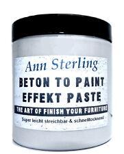 Beton Effekt- Paste Effektfarbe 23,8€/L Struktur Farbe Kreativ Betonpaste Zement