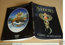 Sirens por Chris Achilleos. ciencia Ficción y Fantasía Libro De Arte De Dragon's World 1986