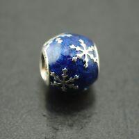 Original Pandora Element Charm 796357EN63 Winterliche Freude NEU 925 Silber
