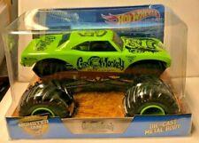 Gad Monkey Hot Wheels Monster Jam 1/24 Big One Rare 2017