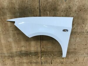 SEAT IBIZA 1.4 PETROL PASSENGER SIDE FRONT  WING IN WHITE  2008 - 2017 GENUINE