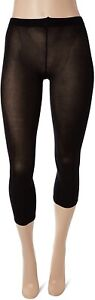 Falke Women's 186355 Cotton Touch Footless Stockings Tights Black Size S/M