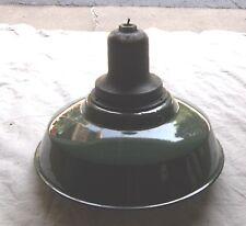 Vintage Westinghose Pendant Style Explosion Proof Light Fixture Porcelain Shade