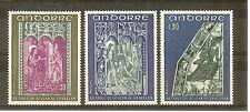 ANDORRE FRANCE YVERT N° 221 à 223 ** RELIGION CATHOLIQUE