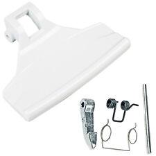 ZANUSSI Genuine Washing Machine Door Handle Latch Spring Pin Catch Lever Kit