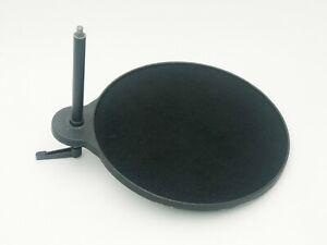 Cambo round accessory tray for U4 / UBA crossarm of UST studio camera stand. ULF