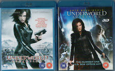 Underworld Awakening + Underworld Evolution (blu-ray) films - New / Sealed!!!
