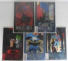 DC: Batman & Superman World's Finest Book #'s 1-5 NEW 1999 Kesel, Taylor