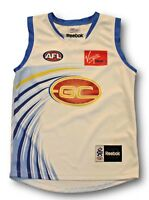 Kids Youth Gold Coast Suns Clash AFL Football Jumper Guernsey Youth Size M