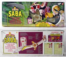RARE VINTAGE 1996 POWER RANGERS WHITE RANGER SABA TALKING SWORD BANDAI NEW !