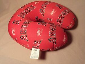 LA Angels baseball, Comfy Neck Pillow Roll for Travel, Brand NEW