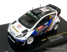 IXO MODELS FORD FIESTA RS WRC Delecour RAM571 Rally Montecarlo 2014 DIECAST