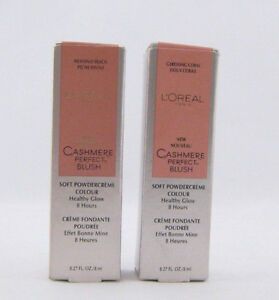 L'Oreal Paris Cashmere Perfect Blush *Choose Your Shade*Twin Pack*