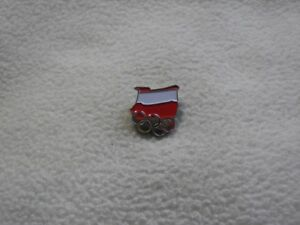 Tokyo 2020 - NOC Poland Olympic Committee pin model-3