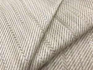 Travers Irregular Chevron Ombre Upholstery Fabric- Arden Chevron / Fawn 4.10 yd