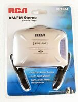 RCA AM/FM Stereo Cassette Player with Headphones