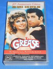 Grease 20th Anniversary Edition VHS Video Movie 123 Min Digitally Remastered