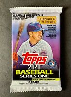 2020 Topps Series 1 Retail Pack Unopened Sealed 16 Cards Possible Auto Relic?