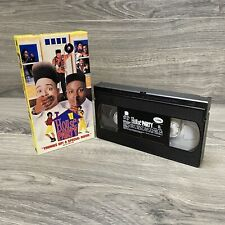 House Party VHS Tape 1990 Cult Comedy Rare HTF