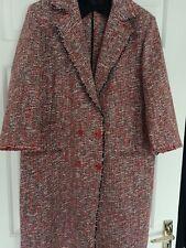 AGNONA Linen Coat IT 46 fits 12-14 UK  or US 8-10 rrp $3,000