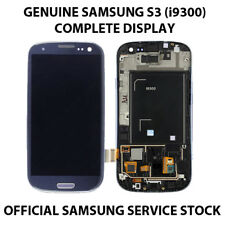 SAMSUNG GALAXY S3 i9300 100% GENUINE ORIGINAL LCD DIGITIZER SCREEN PEBBLE BLUE