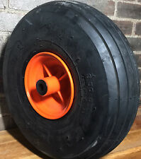 6.00-6 6 Ply Rib Tread Tube Type Golf Cart Tire Orange Rust Free (Resistant) Rim