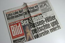 BILDzeitung 11.01.1994 Januar 11.1.1994 Geschenk 27. 28. 29. 30. Geburtstag