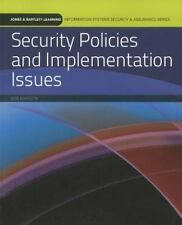 Security Policies and Implementation Issues by Mark Merkow and Robert Johnson (2