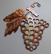 Metal Wall Art Decor small Grape Bushel