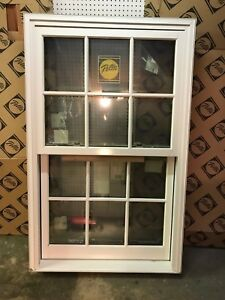 Pella New Double Hung Window 37w X 59h, IMPACT, With installation kit. Shipping.