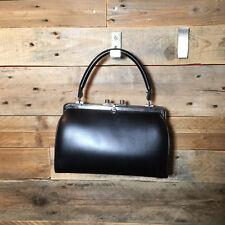 Vintage, rétro sac à main noir, Boutique PlumeDubois